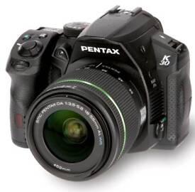 Sale or swap PENTAX K-30 DSLR CAMERA