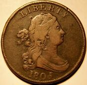 1805 Draped Bust Half Cent
