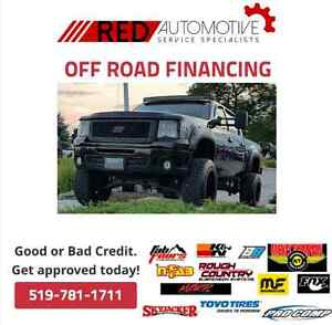 Off Road Financing! Tires package, LiftKits, Exhaust system...