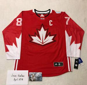 Sidney Crosby signed team Canada