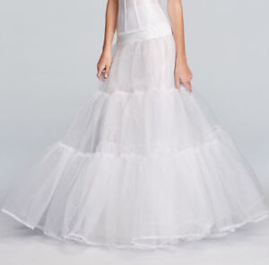 Ballgown slip for wedding dress - size Large