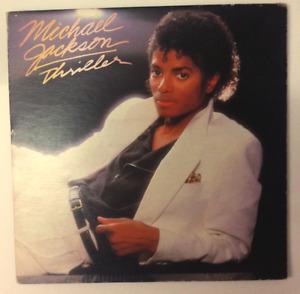 MICHAEL JACKSON THRILLER VINYL RECORD LP ALBUM 1982 EPIC RECORDS