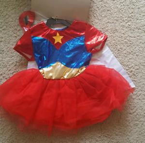 New 2T superhero costume