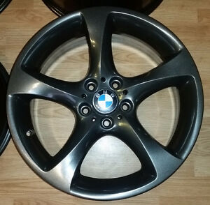 "Set of 19"" staggered alloy rims for BMW in brand new condition"