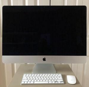 """2013 27"""" iMac 3T Mint Condition"""