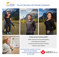 Limited Bookings available in Banff   Canmore, and surroundings.