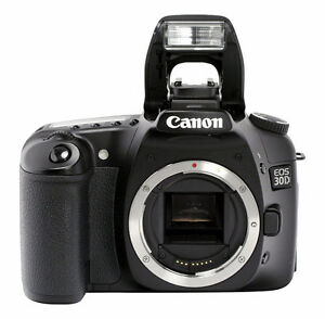 Canon EOS 30D 8.2MP Digital SLR Camera Kit with EF-S 18-200mm
