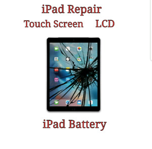iPad Battery - LCD - Screen Replacement Starts $55