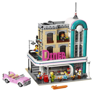 LEGO Downtown Diner 10260 Modular Collectible Toy