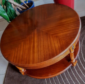 Mahogany coffee table - nice