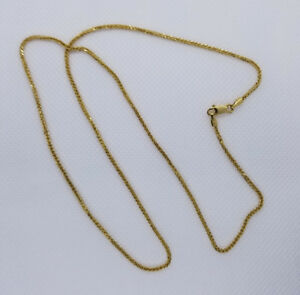 18kt Solid Gold Chain