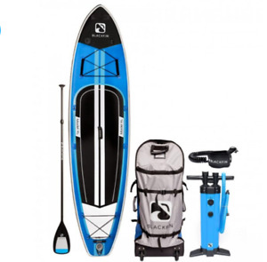 """BLACKFIN Model XL 11'6"""" x 34"""" Wide Inflatable Paddle board"""