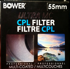 Bower 55mm Ultra MC CPL Filter