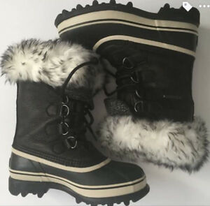 Special Edition Womens Sorel Caribou Reserve Boots-Size 7