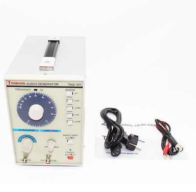 110v Tag-101 Low Frequency Audio Signal Generator Signal Source 10hz-1mhz New