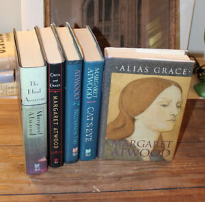 Margaret Atwood Set of Five Inc. Alias Grace all h/c 1st edition