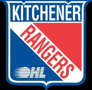 17 Home Game Tickets Kitchener Rangers SOLD