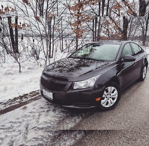 2014 Charcoal Chevy Cruze