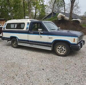 1985 Ford Ranger  Pickup Truck with Canopy