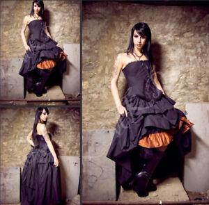 Goth/Steampunk Halloween Wedding Dress Never Worn Custom!