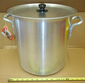 13x13 Aluminum Stock Pot