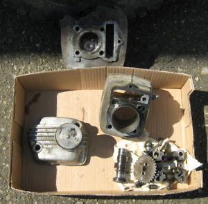 Early 80's Honda Xr100  top end engine parts,   XL xr.