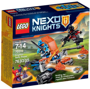 New in box, recently retired Lego Nexo Knights sets