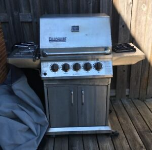 Ducane Stainless BBQ  with Sideburner