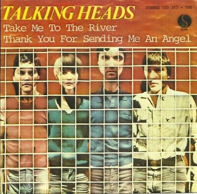 Talking Heads - Take Me To The River - Miniature Poster & Card Frame - River Rock Frame