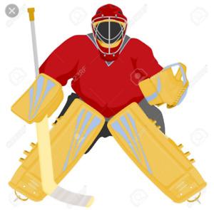 Ice hockey Goalie looking to play