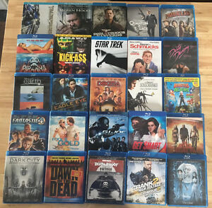 LARGE movie lot for sale - BluRay / HD-DVD / DVD with player