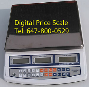 New 30kg / 66lbs Digital Price Scale/Price Computing Scale