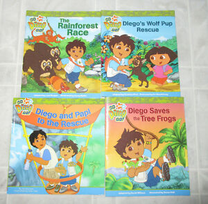 4x assorted Diego books