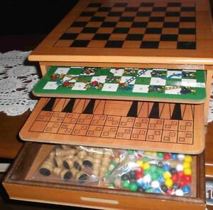 ASSORTED GAME BOARDS IN ONE