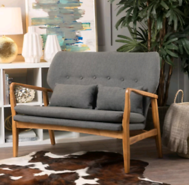 Two seater Loveseat - Grey