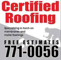 Certified Roofing - FREE ESTIMATES