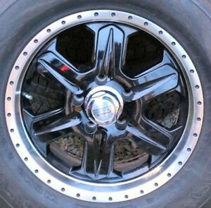 4x Mags American Racing Fuel Series Jeep 5x127 (5x5)