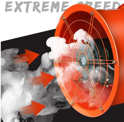 14 Axial Fan Exhaust Flow Fan Cylinder Pipe Fan 220v 250w For Warehouse Garage