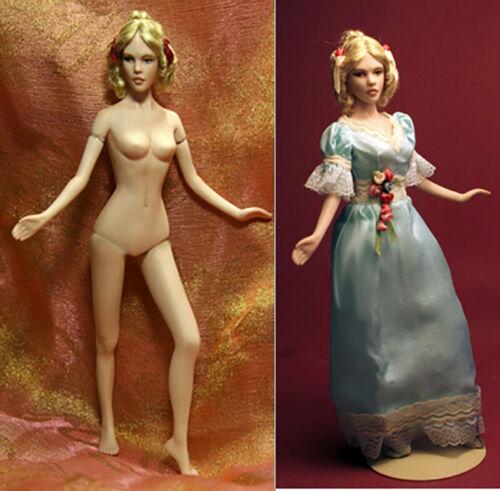 Elizabeth - 1:12 scale lady dollhouse size mold set by designer Patricia Rose