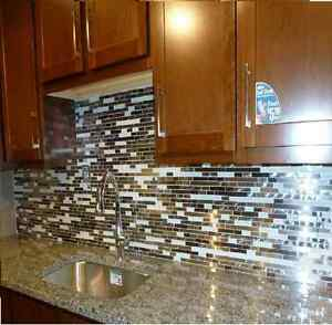 Tile Setter and supplier for Mosaic Backsplash