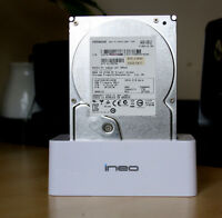 Hitachi 1TB Hard drive and a doc