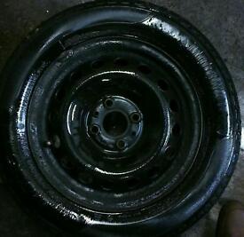185 / 65 / 14 tyres x4 on fiat rims