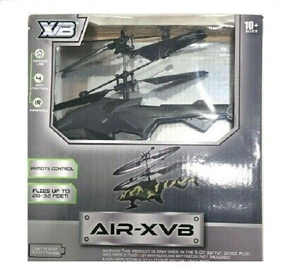 Air-XVB Remote Control Stunt Helicopter W/ USB Charge - 4 Way - Infrared ()