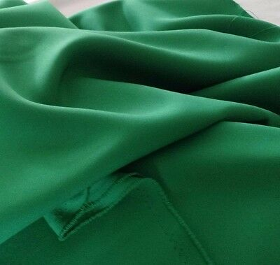 - Shamrock Kelly Green Gabardine Tropical Polyester 60 to 62