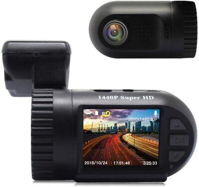SIV Car Dash Cam, Dash Camera, FHD 1440P Car Driving Recorder with G-Sensor,