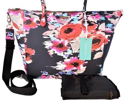 Kate Spade Laurel Way Printed Adaira Vinal Baby Bag Blurry Floral NWT for sale  Shipping to India