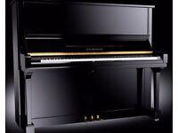 BRAND NEW STEINHOVEN SU 133 HIGH GLOSS BLACK UPRIGHT PIANO