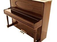 Brand New Steinhoven SU 128 High Gloss Walnut Upright Piano