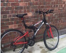 Bike for sale, good condistion plus FREE HELMET