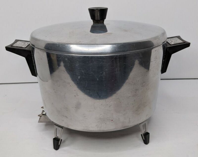Presto Automatic Electric Dutch Oven Model SD-36 Aluminum Tested and Working